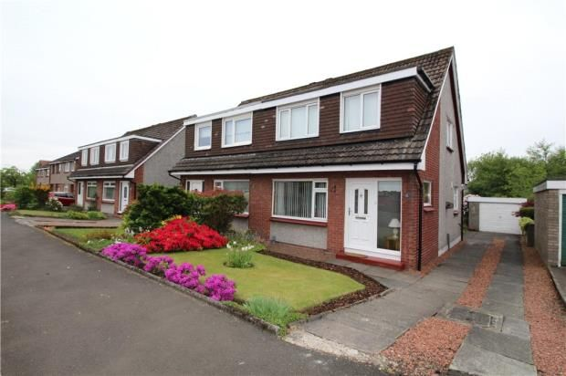 Thumbnail Semi-detached house to rent in Stuart Road, Bishopton, Renfrewshire