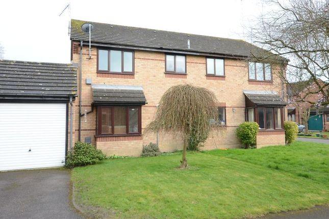 Thumbnail End terrace house to rent in Cavendish Gardens, Winnersh, Wokingham
