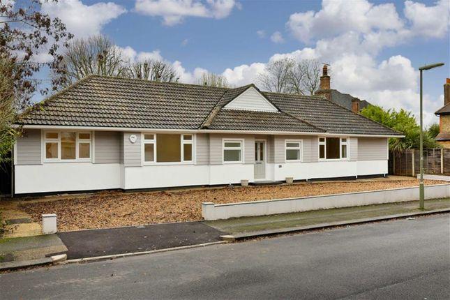 Thumbnail Detached bungalow for sale in Ashdown Road, Epsom, Surrey