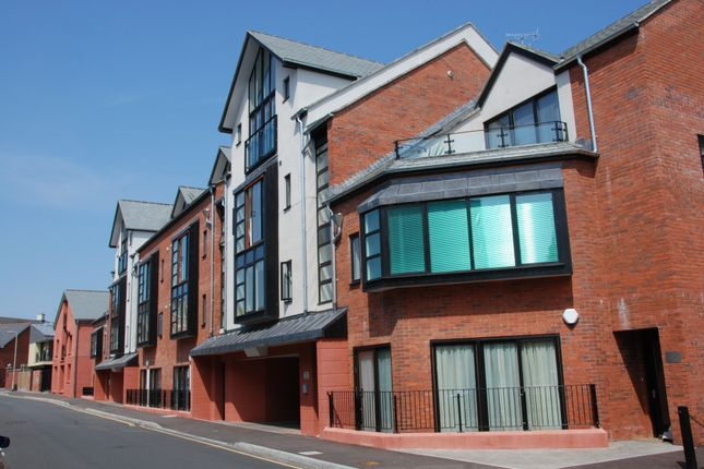 Thumbnail Flat to rent in Tudor Street, Exeter