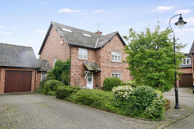 Thumbnail Detached house for sale in Ivy Court, Wrexham Road, Pulford, Chester