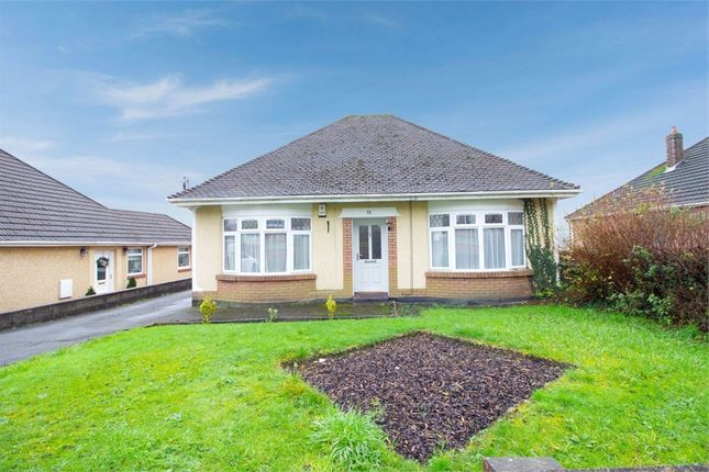 Thumbnail Detached bungalow for sale in Church Road, Tonteg, Pontypridd, Mid Glamorgan