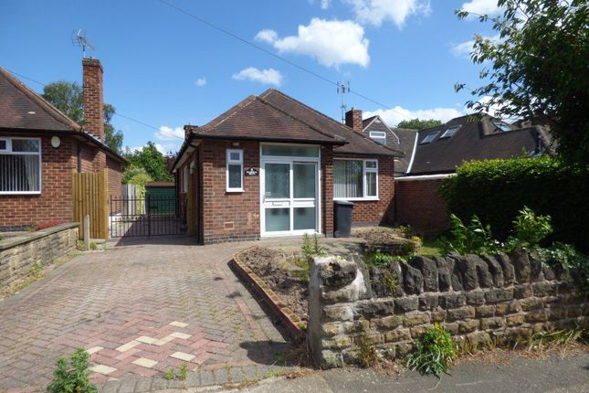 Thumbnail Bungalow to rent in Balmoral Drive, Bramcote, Nottingham