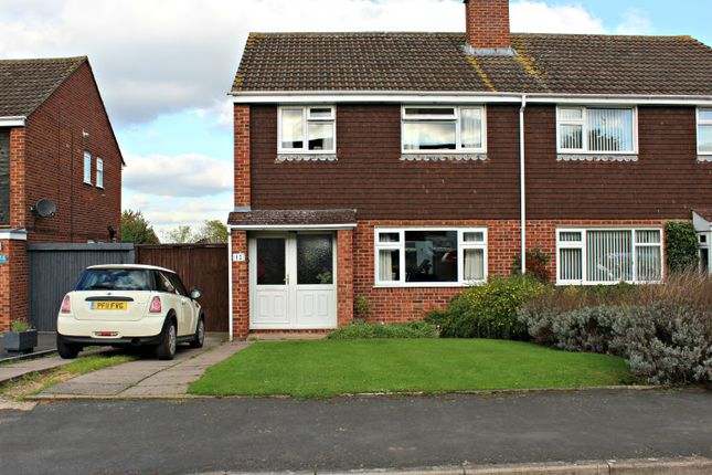 Thumbnail Semi-detached house for sale in Argyle Way, Bishops Tachbrook