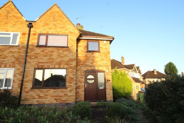Thumbnail Semi-detached house for sale in Barngate Close, Birstall, Leicester