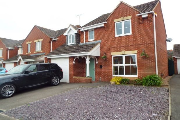 Thumbnail Detached house to rent in Frank Bodicote Way, Swadlincote