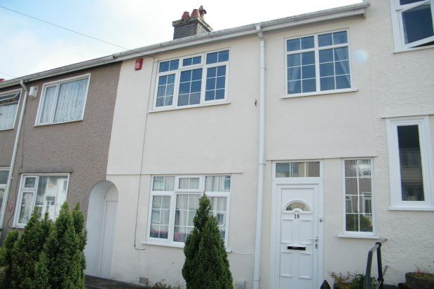 Thumbnail Terraced house to rent in Hungerford Road, Plymouth