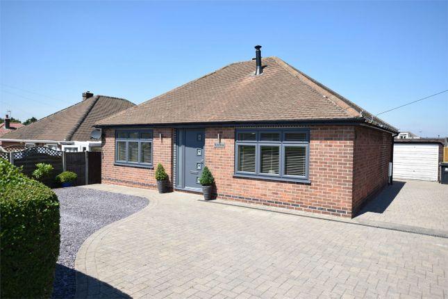 Thumbnail Detached bungalow for sale in Tor Avenue, Riddings, Alfreton, Derbyshire