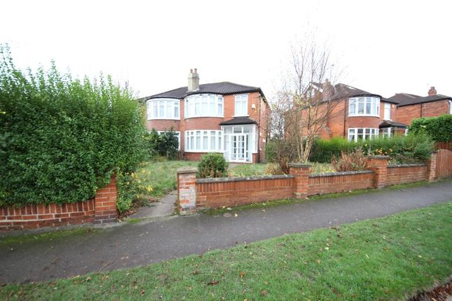 3 bed semi-detached house to rent in West Park Drive West, Roundhay, Leeds LS8