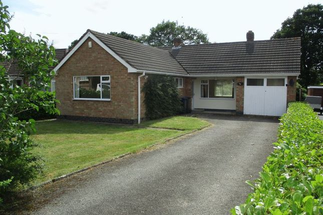 Thumbnail Detached bungalow for sale in Spinney Road, Burbage, Hinckley