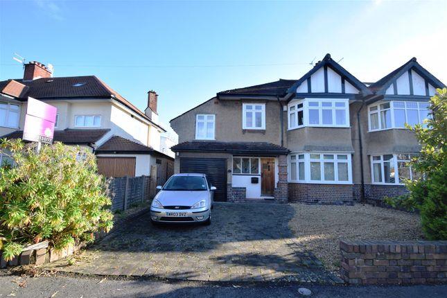 Thumbnail Semi-detached house for sale in Stoke Lane, Westbury-On-Trym, Bristol