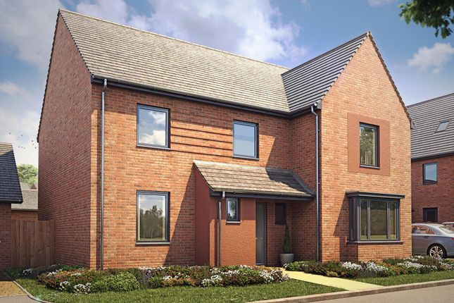 "Thumbnail Detached house for sale in ""Manning"" at Langaton Lane, Pinhoe, Exeter"