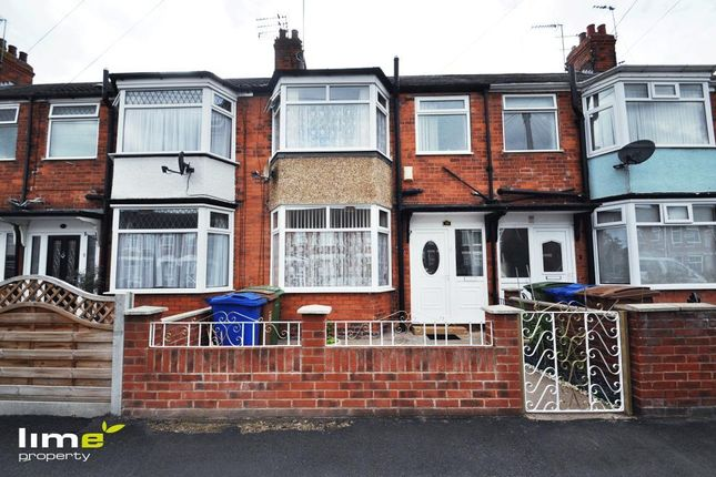 Thumbnail Terraced house to rent in Keswick Gardens, Hull