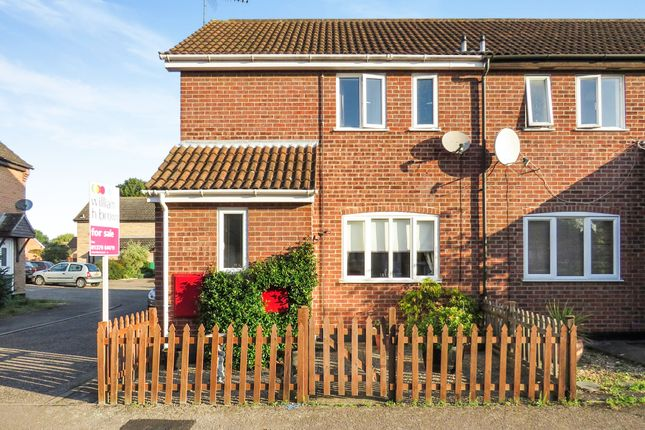 Thumbnail End terrace house for sale in Pursehouse Way, Diss