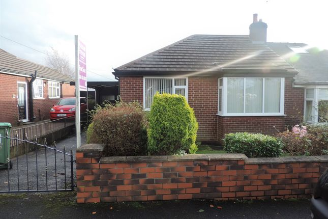 Thumbnail Semi-detached bungalow for sale in 63 Oakbank Avenue, Chadderton