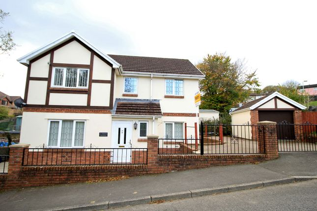 Thumbnail Detached house for sale in Park Drive, Bargoed