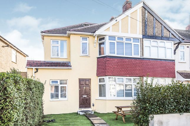 Thumbnail End terrace house for sale in Haslemere Avenue, Mitcham