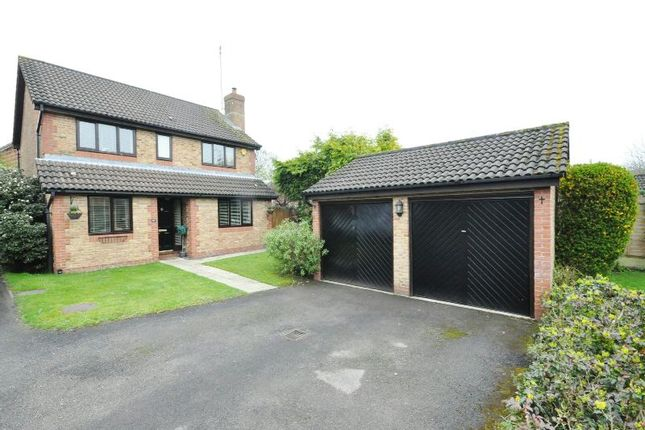 Thumbnail Detached house for sale in Regent Close, Lower Earley, Reading