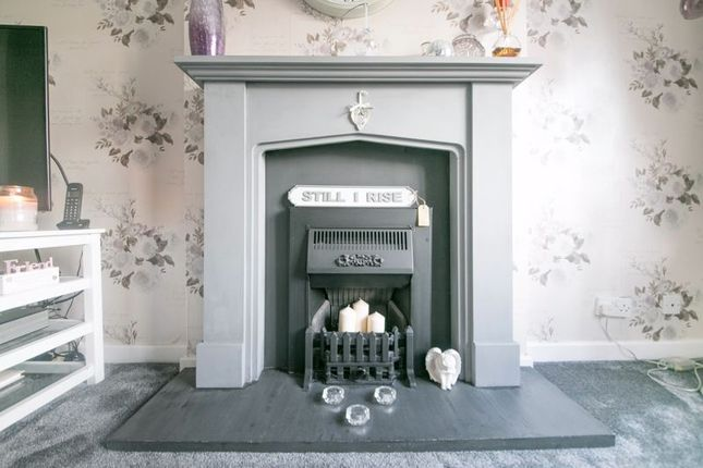 Fireplace of St. James Grove, Poolstock, Wigan WN3