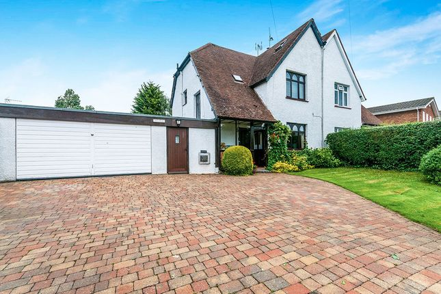 Thumbnail Semi-detached house for sale in Felsted Church Road, Hartley, Longfield