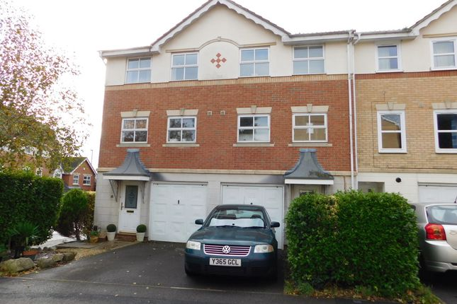 Thumbnail Town house to rent in Copper Beech Drive, Farlington, Portsmouth