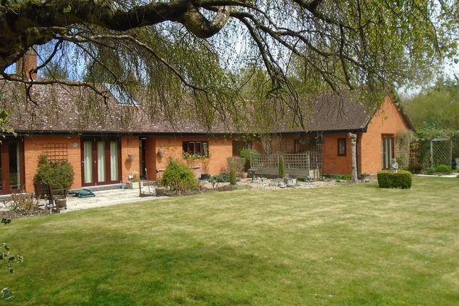 Detached bungalow for sale in Mendlesham Road, Brockford, Stowmarket, Suffolk