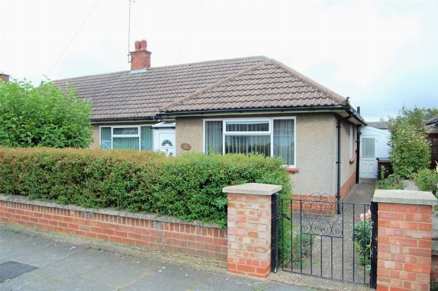 Semi-detached bungalow for sale in Collingdale Road, The Headlands, Northampton