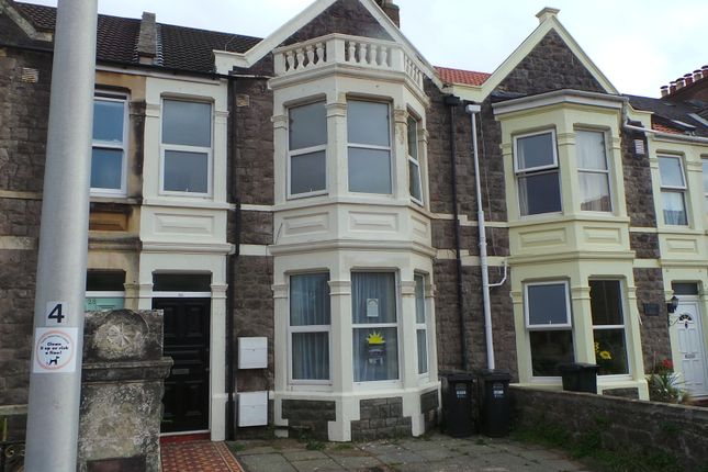 Thumbnail Flat to rent in Quantock Road, Weston-Super-Mare