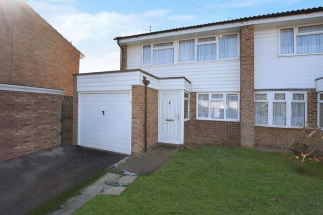 Thumbnail Semi-detached house for sale in Abraham Drive, Silver End, Witham