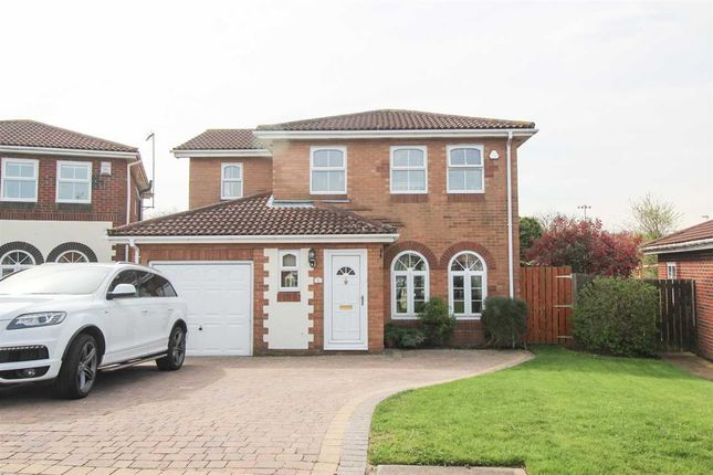 Thumbnail Detached house for sale in Woburn Close, Northburn Park, Cramlington