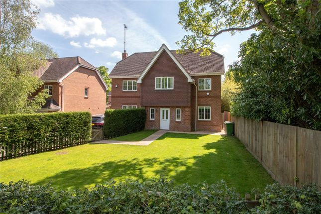 Thumbnail Detached house for sale in Hams Corner, Sherfield On Loddon, Hook