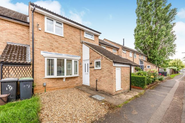 Thumbnail End terrace house for sale in The Poplars, Arlesey