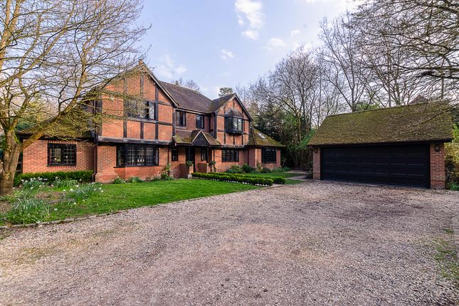 Thumbnail Detached house for sale in Mud Lane, Eversley, Hook