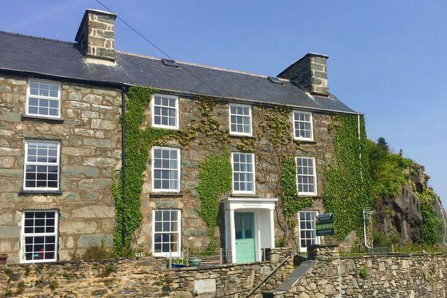 Thumbnail Semi-detached house for sale in Aberamffra Road, Barmouth, Gwynedd.