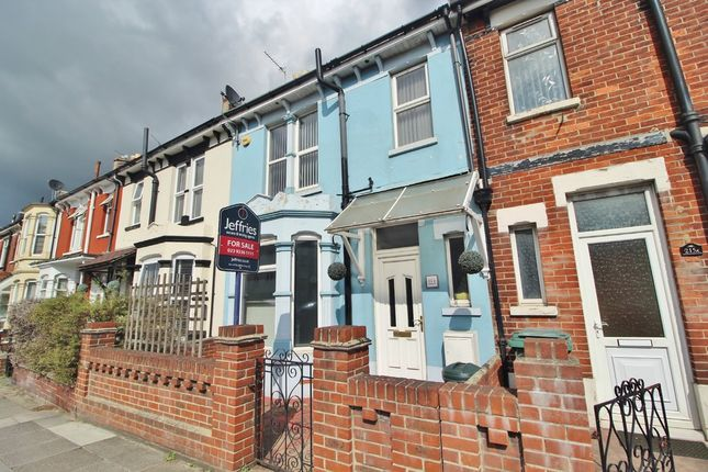 Thumbnail Terraced house for sale in Milton Road, Southsea