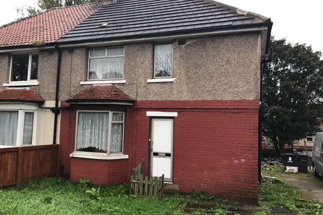 Thumbnail Semi-detached house to rent in Raven Terrace, Bradford