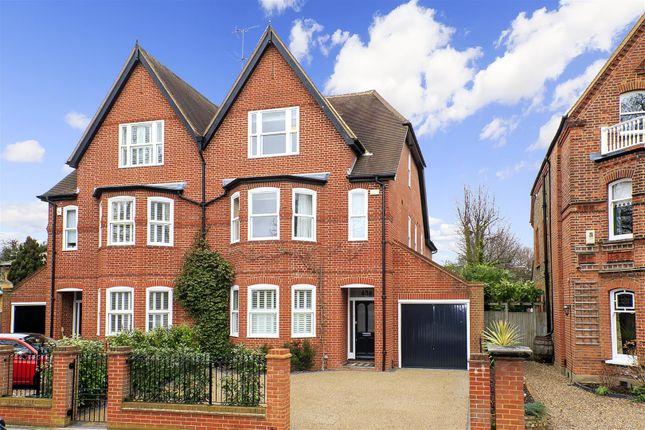 Thumbnail Semi-detached house for sale in Waldegrave Park, Twickenham