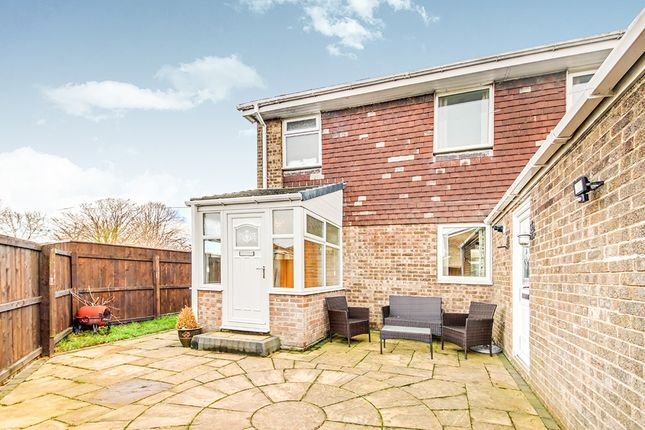Thumbnail Semi-detached house for sale in Shanklin Place, Cramlington, Northumberland