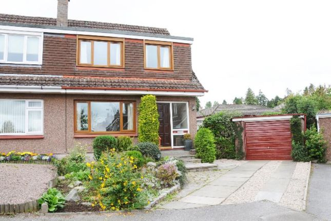 Thumbnail Semi-detached house to rent in St Nicholas Crescent, Banchory
