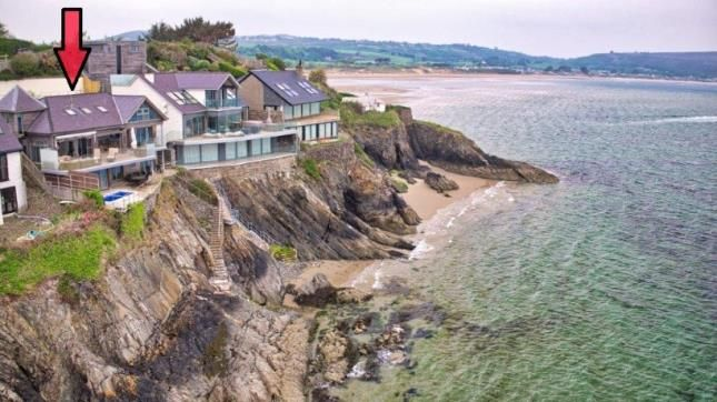 Thumbnail Detached house for sale in Benar Headland, Abersoch, Gwynedd