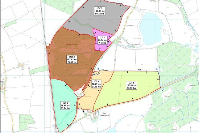 Sale Plan of Stobswood, Morpeth, Northumberland NE61