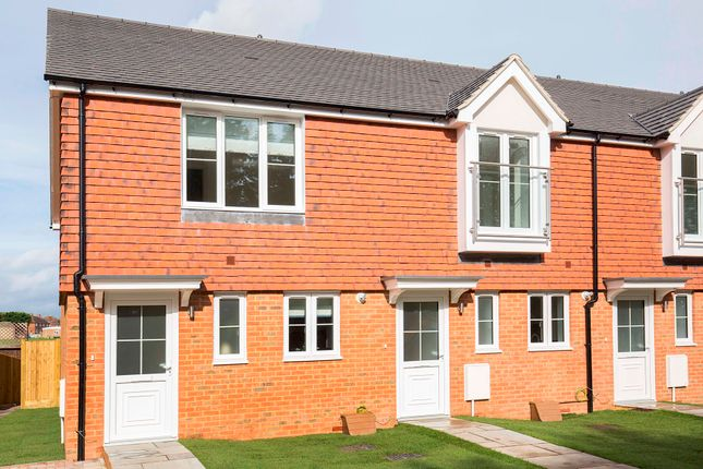 Thumbnail End terrace house for sale in Park View Close, Guildford, Surrey