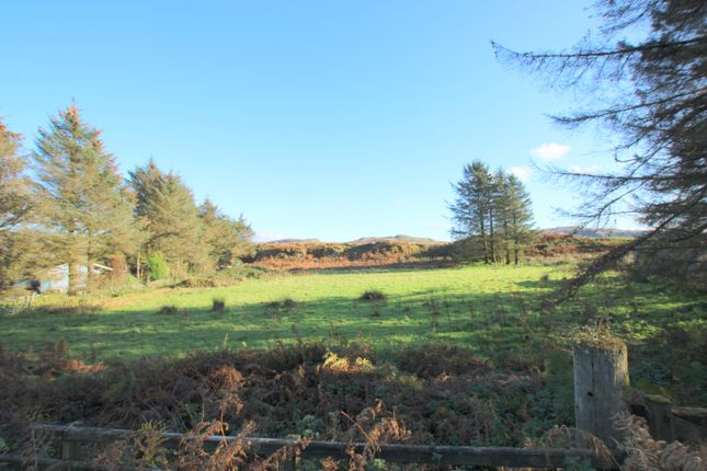Thumbnail Land for sale in Site For Two Chalets, Balvicar