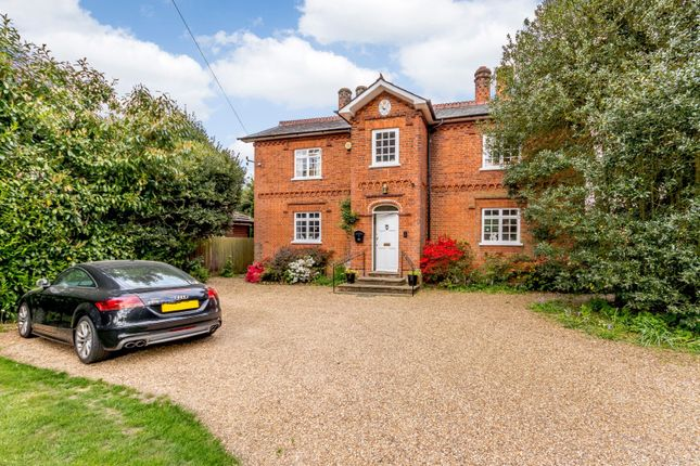 Thumbnail Detached house for sale in Coldharbour Road, Pyrford, Woking