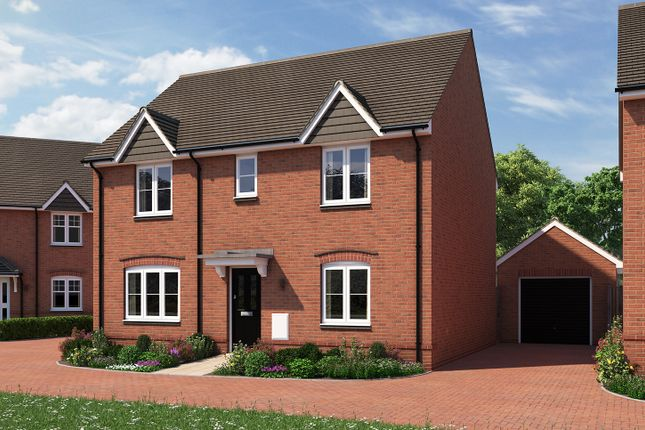 "Thumbnail Detached house for sale in ""The Leverton"" at Moormead Road, Wroughton, Swindon"