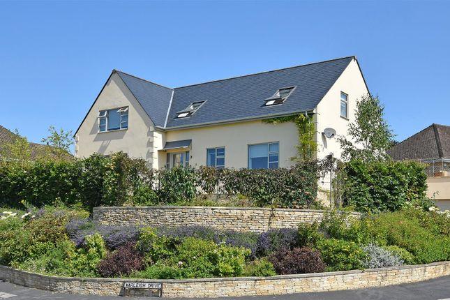 Thumbnail Link-detached house for sale in Warleigh Drive, Batheaston, Bath