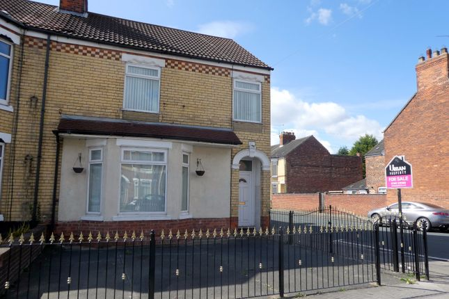 4 bed end terrace house for sale in Westcott Street, Hull