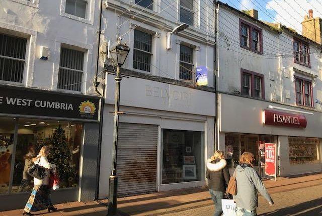 Thumbnail Retail premises to let in 72 King Street, Whitehaven, Cumbria
