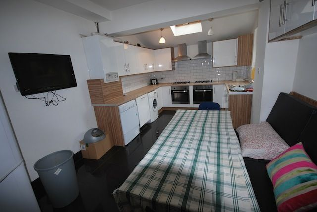 Thumbnail End terrace house to rent in Derby Road, Fallowfield, Manchester