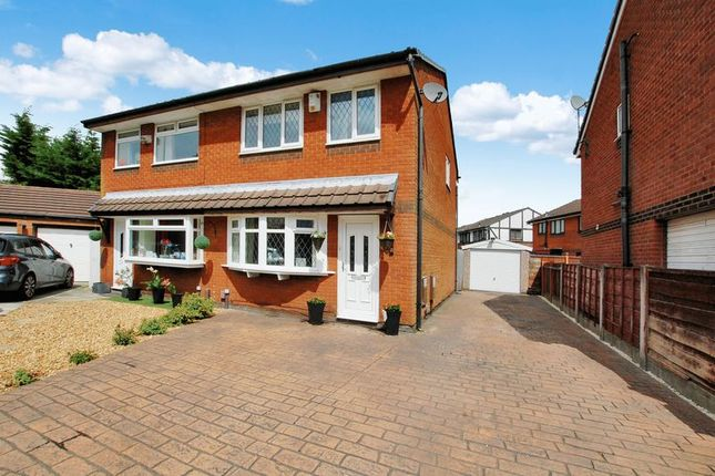 Thumbnail Semi-detached house for sale in Aldford Grove, Bradley Fold, Bolton